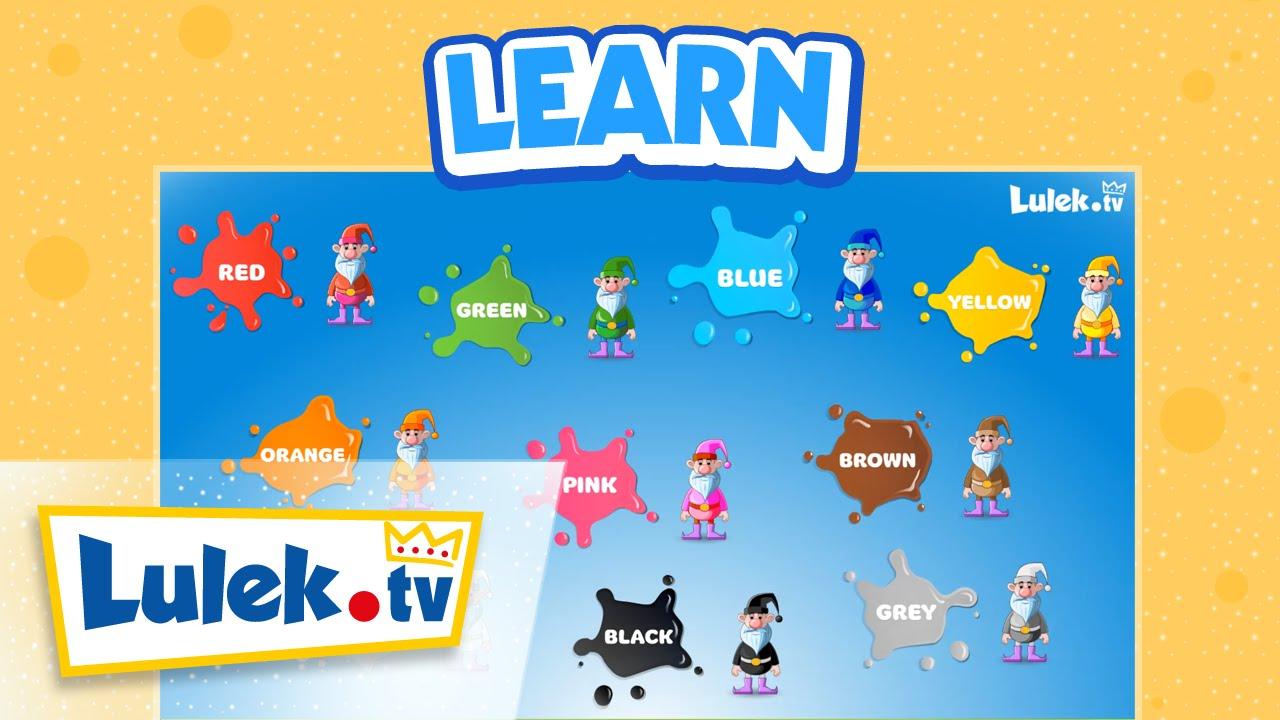 Kolory po angielsku dla dzieci