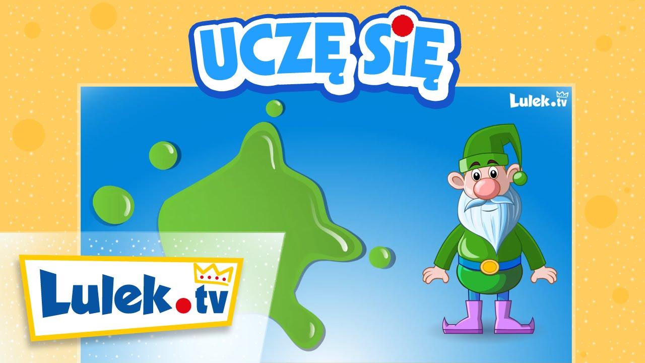 Nauka kolorów dla maluchów po polsku