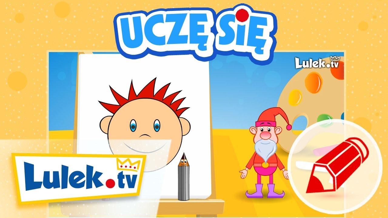 Nauka rysowania dla dzieci – Buzia