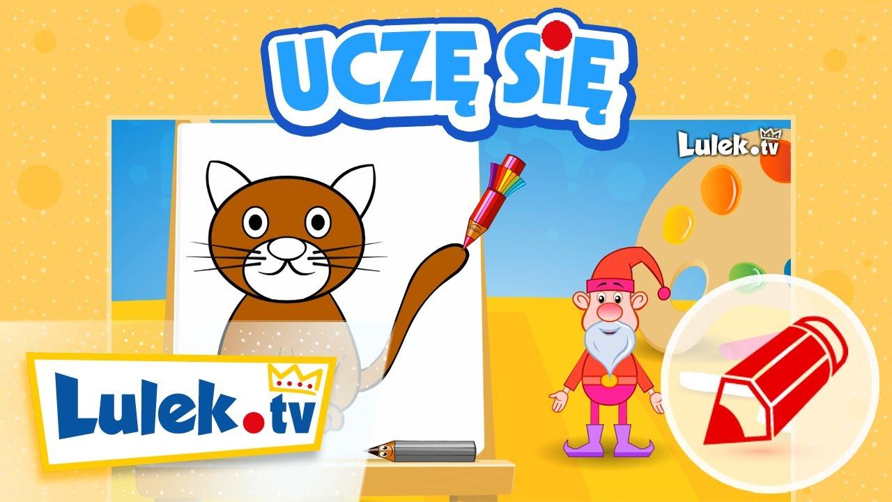 Nauka rysowania dla dzieci – Kot