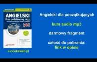 Angielski dla początkujących – kurs audio mp3