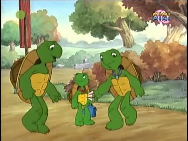 Witaj Franklin Odcinek 3 – Franklin idzie do szkoły, Franklin się zgubił