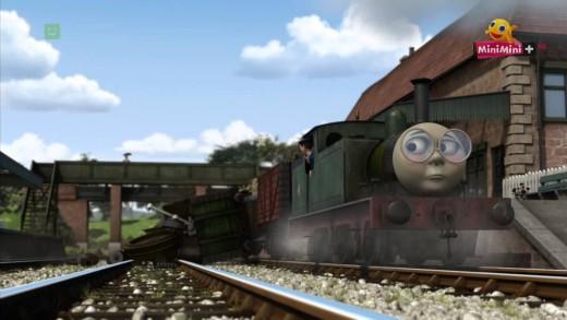 Tomek i Przyjaciele – Tomek i pociąg ze śmieciami (s16e06)
