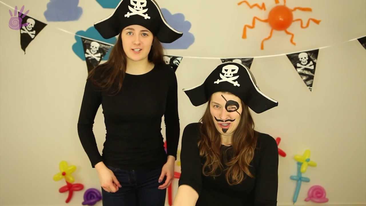 Malowanie Buziek Malowanie Twarzy 3 Piratka Piosenki Dla