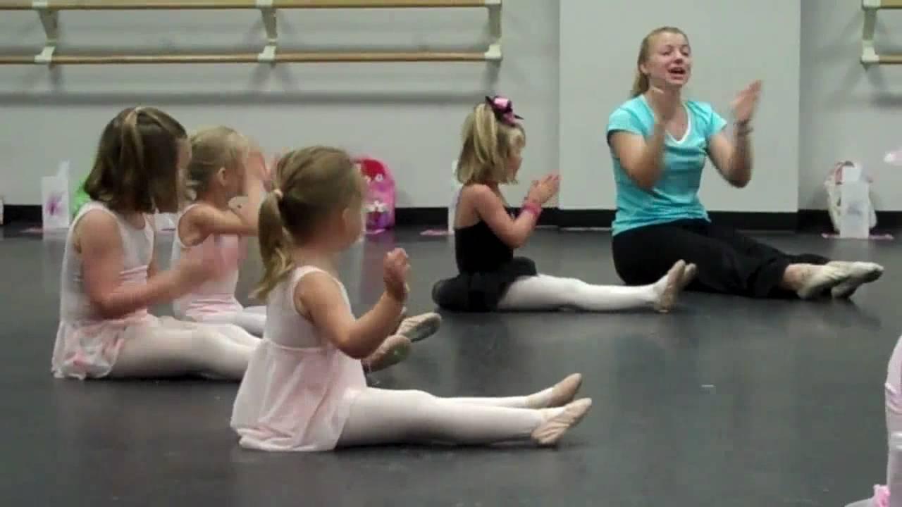 Taniec Dla Dzieci – Rozgrzewka Balet