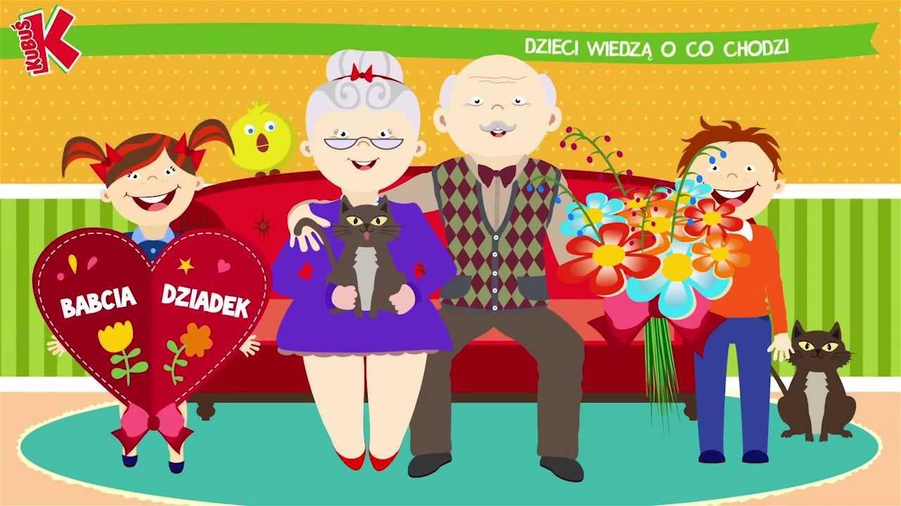 Kubuś – Dzień Babci i Dziadka – bajka dla dzieci