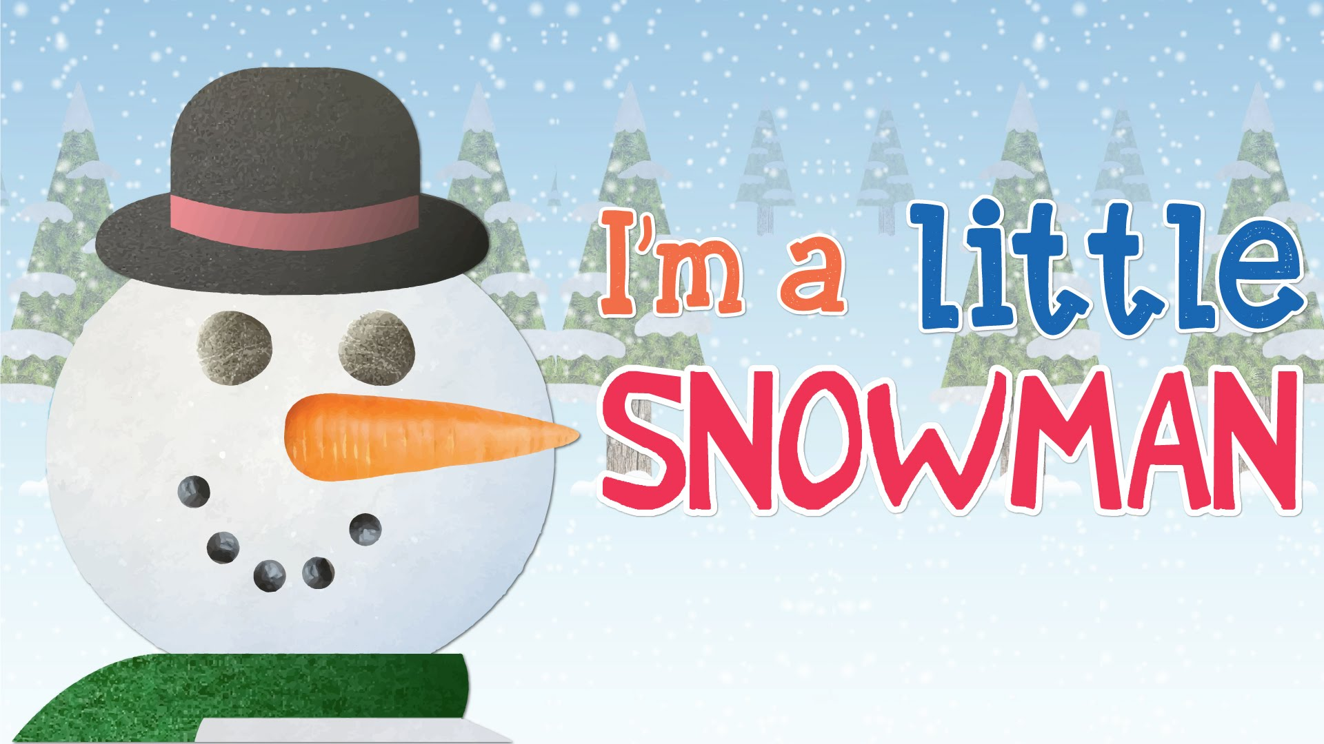I'm A Little Snowman | Super Simple Songs