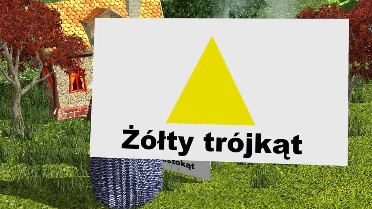 Nauka kształtów i kolorów dla dzieci po polsku, 1080p