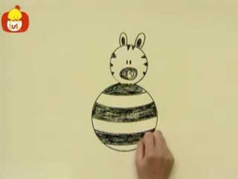 Kręgi – Zebra, dla dzieci