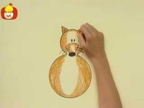 Kręgi – Brązowy kot, dla dzieci