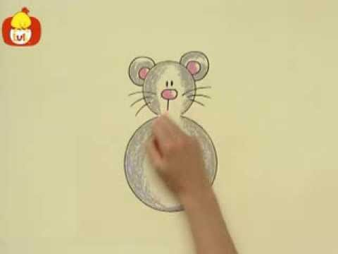 Kręgi – Mysz, dla dzieci