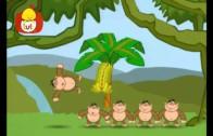 Liczę – 6 małpek, dla dzieci