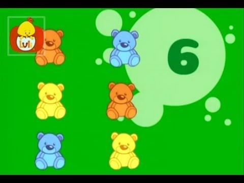 Liczę : 4 zajączki, dla dzieci