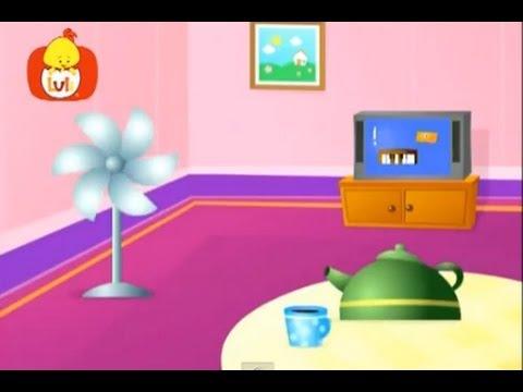 Książeczka kształtów – Prostokąt: organy, szuflady, telewizja, dla dzieci