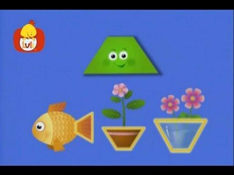 Książeczka kształtów – Prostokąt: obrazki, dla dzieci