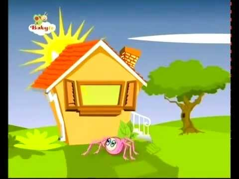 BABY TV – Uparty mały pająk