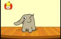 Koleżki na dłoni : Motyl i słoń, dla dzieci