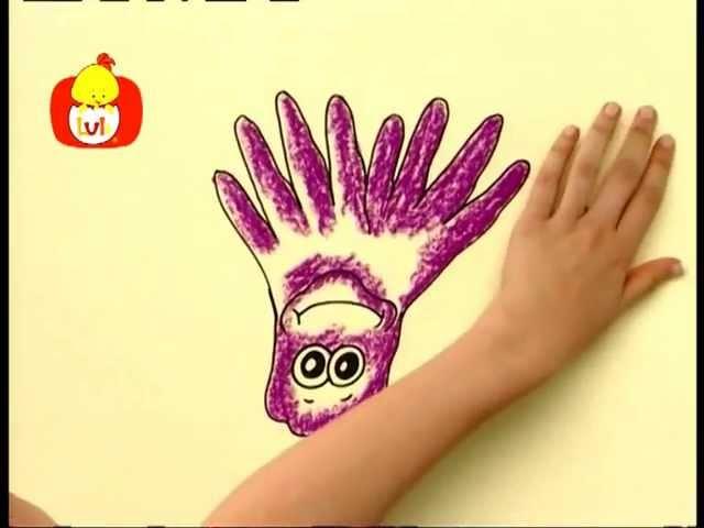 Koleżki na dłoni – Zebra i ośmiornica, dla dzieci