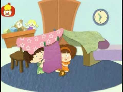 Dobranoc – Dzieci pokój: budowanie namiotu, dla dzieci