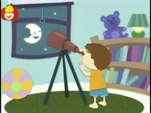 Dobranoc – Dzieci pokój: oglądając gwiazdy, dla dzieci