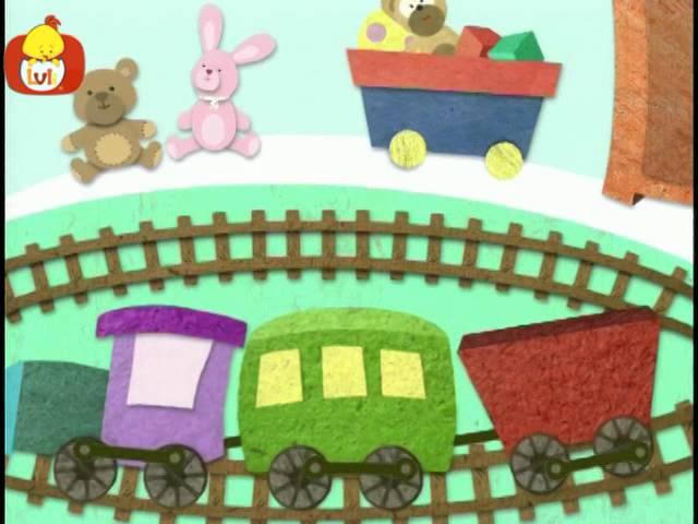 Dobranoc – Zabawki: pociąg, dla dzieci