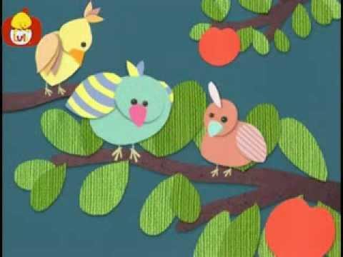 Dobranoc – Ptaki: młode ptaki, dla dzieci