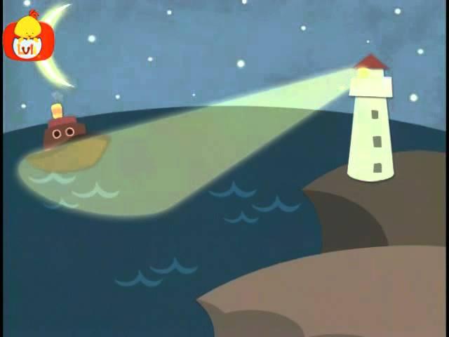 Dobranoc – Morze: latarnia morska, dla dzieci