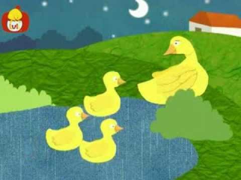 Dobranoc – Zwierzęta gospodarskie: kaczki, dla dzieci