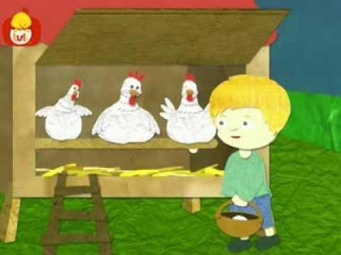 Dobranoc – Zwierzęta gospodarskie: kury, dla dzieci