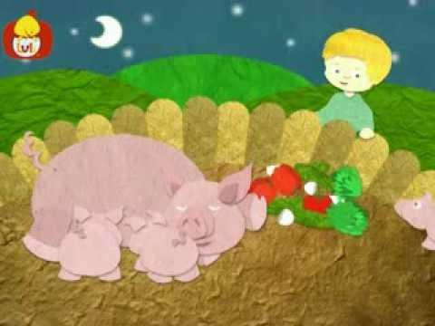 Dobranoc – Zwierzęta gospodarskie: świnie, dla dzieci
