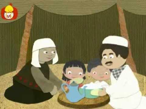 Dobranoc – Pustynia: jedzenia w namiocie, dla dzieci