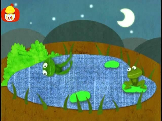 Dobranoc – Jezioro: żaby drygnięcie, dla dzieci
