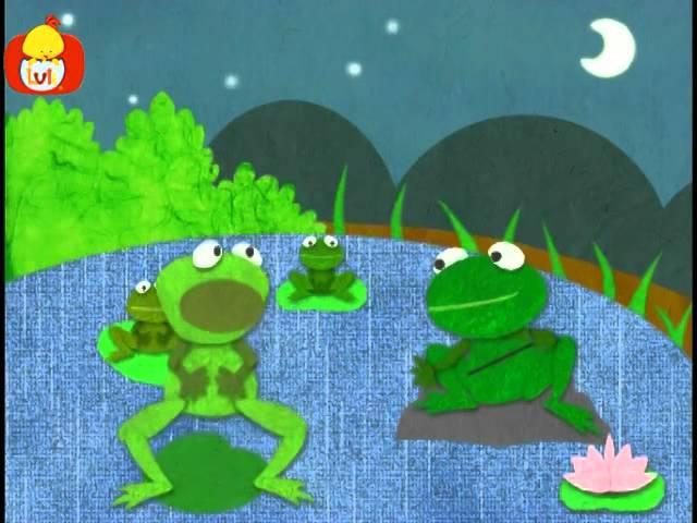 Dobranoc – Jezioro: chór żaba, dla dzieci