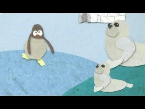 Dobranoc – Góry lodowe: sanki i uszczelnienia, dla dzieci