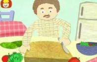 Dobranoc – Obiad: sałatka, dla dzieci