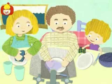 Dobranoc – Obiad: mycie, dla dzieci