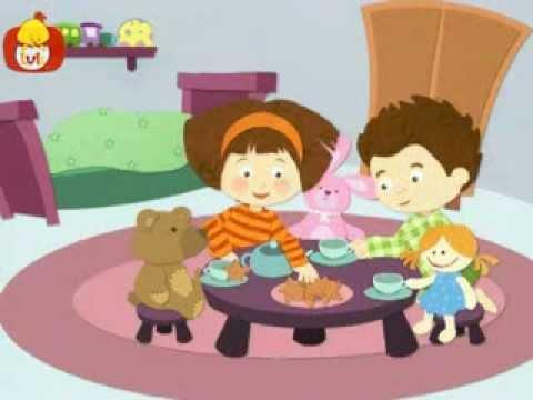 Dobranoc – Dzieci pokój: strona herbaty, dla dzieci