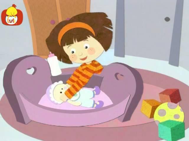 Dobranoc – Dzieci pokój: gry z lalką, dla dzieci