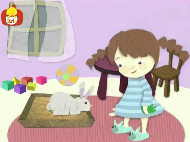 Dobranoc – Zwierzęta: królik, dla dzieci