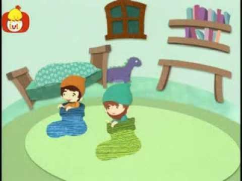 Dobranoc – Gnomy: skoki w skarpetkach, dla dzieci