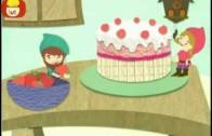 Dobranoc – Gnomy: jedzenia ciasta, dla dzieci