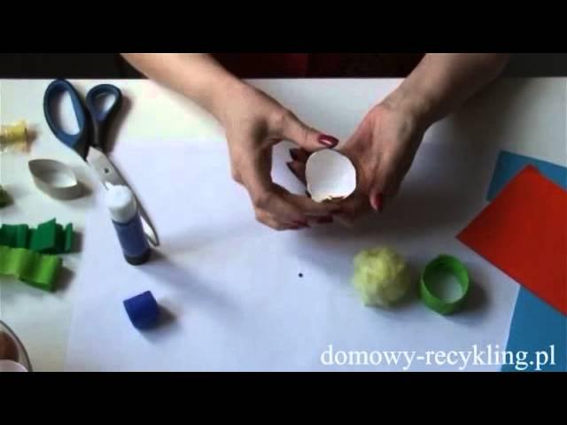 Jak zrobić kurczaczka – Ozdoby Wielkanocne