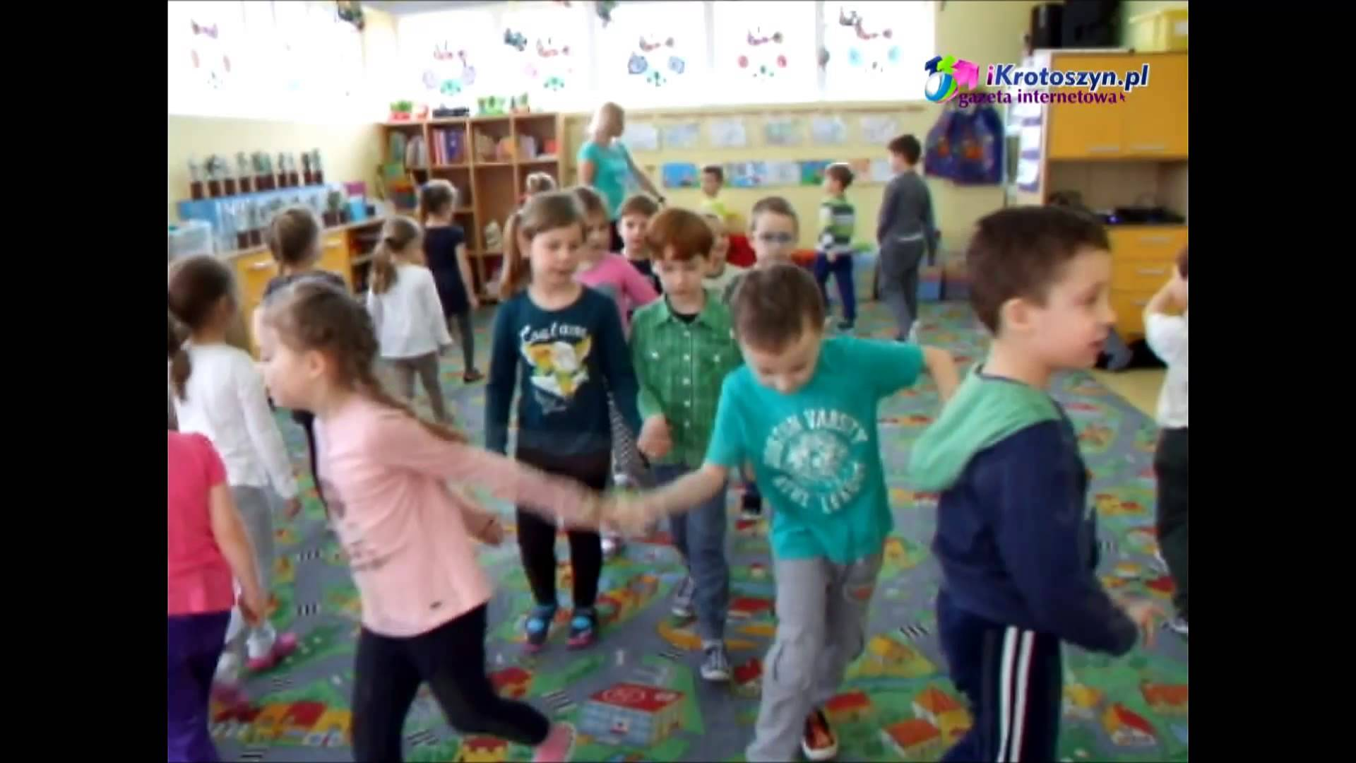 iKrotoszyn TV – Dzieci z przedszkola Smerfuś o Wielkanocy