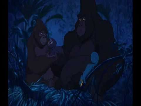Tarzan- You'll Be In My Heart (HD) By Teddy Geiger