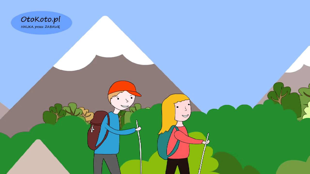 Góry – Piosenka dla dzieci