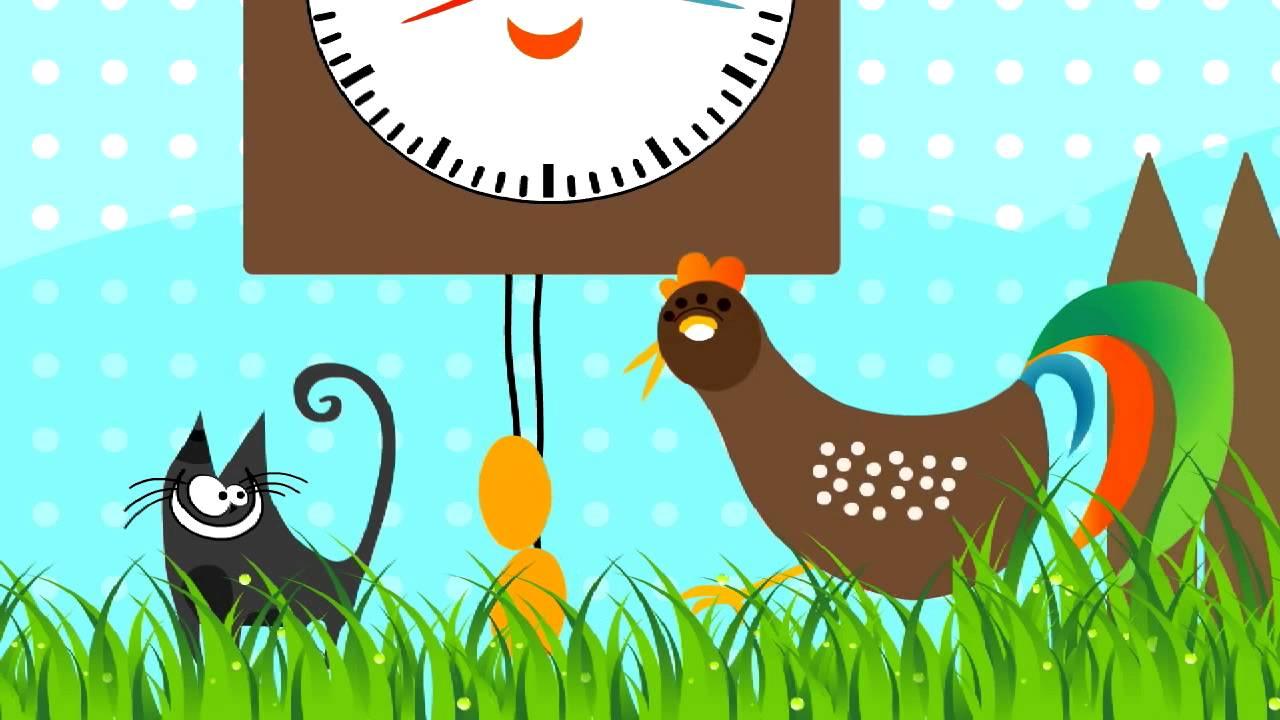 Zegar – piosenka dla dzieci