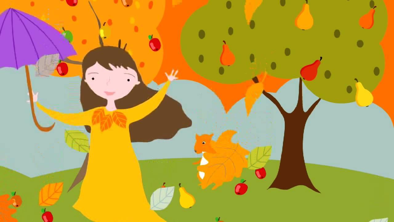 Jesien – piosenka dla dzieci