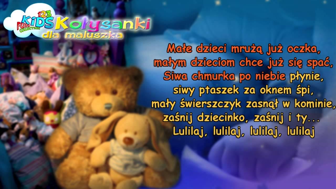 Siwa Chmurka – Kołysanki dla Dzieci + tekst (karaoke) – polskie