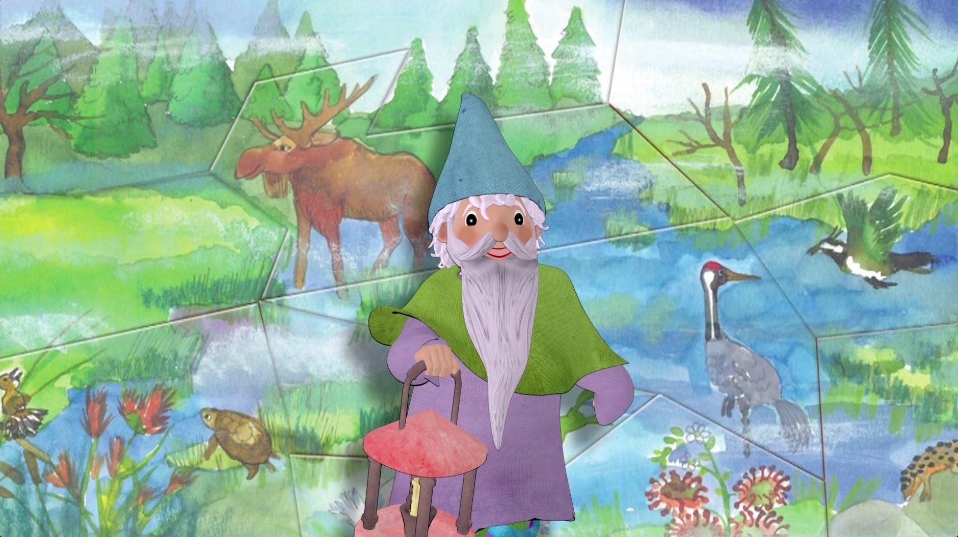Piosenki dla Dzieci – Skrzat Bagniaczek – piosenka o bagnach