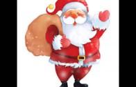 Dziadzio Mikołaj lasem wędruje, w okna zagląda i nasłuchuje